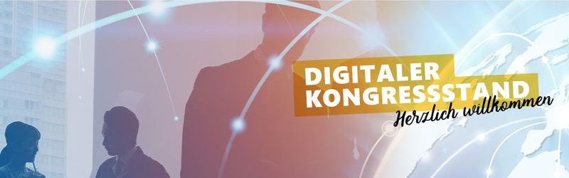Digitaler Kongressstand